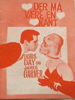 The Thrill Of It All Doris Day James Garner Vintage 1963 Danish Movie Program