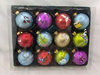 Kurt S Adler 12 Days of Christmas Ball Ornaments