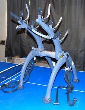 SARIS BONES 3 BICYCLE TRUNK MOUNT BIKE RACK MODEL 801 GREAT PRE-OWNED SHAPE