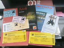 Für Sammler: 5 Ticktets und 3 Flyer 2007-2010 vom Kellertheater Wetzlar