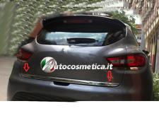 Striscia Cromata Portellone Bagagliaio Acciaio Cromo Renault CLIO IV 4 HB 2012+