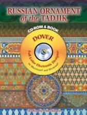 NEW - Russian Ornament of the Tadjik CD-ROM and Book (Dover Electronic Clip Art)