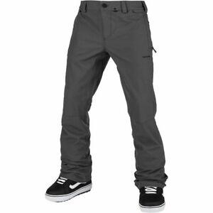 Volcom Men's Klocker Tight Fit Snowboard Pant DARK GREY XL