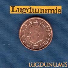 Belgique 1999 1 centime d'euro SUP SPL Provenant d un rouleau - Belgium