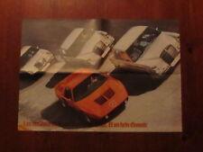 Mercedes -Benz Modellprogramm 1971 incl. C 111  Prospekt Brochure