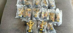 14* New Hungry Gold Simpsons Characters Collectable Figurines