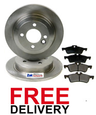 FOR MINI R50 R53 ONE 01-06 COOPER, COOPER S, WORKS ONE D REAR BRAKE DISCS & PADS