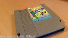 Sesame Street 1 2 3 Nes Nintendo  Good Condition NTSC