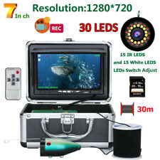 DVR Fish Finder Underwater 1080P Camera For Fishing 16GB Recording 30 pcs LEDS