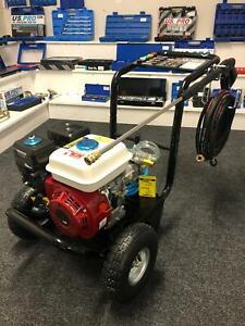 Petrol Pressure Washer - 3500PSI / 240BAR - POWER JET CLEANER -