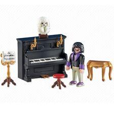 Playmobil FamilyFun Ref 6527, NUEVO Pianista con Piano, Musico Concierto