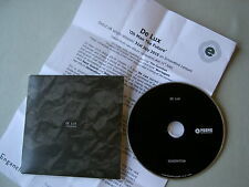 DE LUX Generation promo CD album