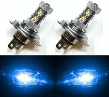 LED 50W HS1 12V Blue 10000K Two Bulbs Head Light Replace Motorcycle Bike