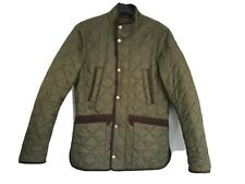Barbour Jacket Mens Khaki Green Fishing Hunting Game Quilted CORDWINER Size S