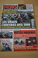 MOTO JOURNAL N°1794 HONDA 125 VARADERO DUCATI 848 & 851 SUPERBIKE GUZZI STELVIO