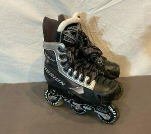 Mission Inhaler NL56 Kids High Quality Roller Hockey Skates US 11 EU 28 Skate 10