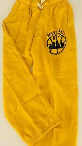 NWOT OLD NAVY BOYS SZ 8 PAIR OF YELLOW TIE FRONT ATHLETIC PANTS/ NEW NO TAGS!!!