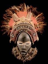 ** Maske der Dan / Liberia ** incl. Ständer **
