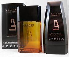 AZZARO POUR HOMME Eau de Toilette Spray 100 ml + Duschgel 150 ml im Set