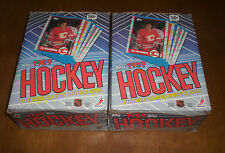 2 TOPPS 1989-90 HOCKEY CARD BOXES