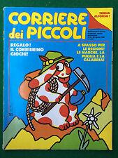 CORRIERE DEI PICCOLI n.34/1990 (ITA) con Inserto Regioni MARCHE PUGLIA CALABRIA