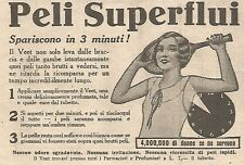 W4315 Crema depilatoria VEET - Pubblicità del 1930 - Vintage advertising