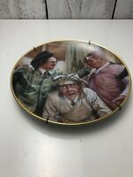 The Three 3 Stooges POP ART Plate  NYUK NYUK !! SOITENLY! A Lifetime of Laughter