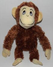 "Hand Hand Finger Thumb Brown Monkey Plush 15"" Stuffed Animal Kohls Cares Perkins"