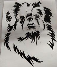 Vinyl Decal  dogs