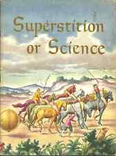SUPERSTITION OR SCIENCE Bertha Morris Parker - 1948 - GREAT FOR HOMESCHOOLING