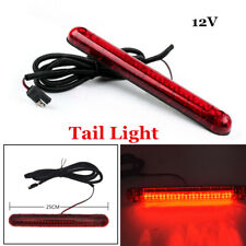 12V Car Rear Window Tail Light High Mount Stop Brake Lamp LED Red Driving Safety