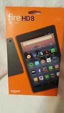 NEW Amazon Kindle Fire HD8 16GB With Alexa 8th Generation BLACK.