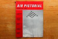 Vtg Original Air Pictorial Magazine 1960 October Cessna Aircraft Company