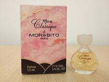 Mon Classique by Morabito for Women Parfum 7.5ml MINI MINIATURE PERFUME NEW