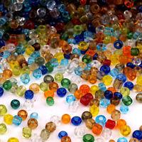 Lot Mix 8000 Perles de Rocailles en verre Transparent 2mm 100g (12/0)