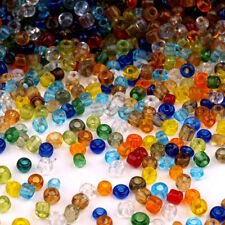 Lot Mix 8000 Perles de Rocailles en verre Transparent 2mm 100g (12/0)