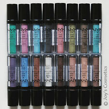 """3 Nyx Roll On Eye Shimmer - Res """" Pick Your 3 Color """" *Joy's cosmetics*"""