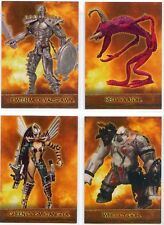 Spawn the Toy Files Exclusive Figures 4 Card Chase Set from Inkworks - New