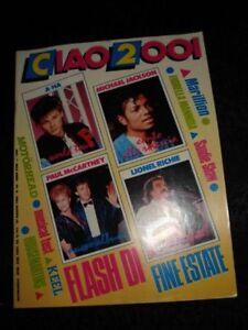 CIAO 1986 Michael JACKSON Paul McCARTNEY MOTORHEAD A-HA