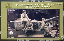Royal German Tiger I Tank Crew Figures  - Russia 1944 Resin 1/35 Scale RY171