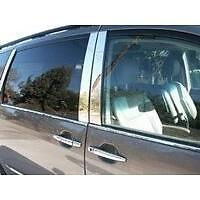 Fits The Ford Explorer 2002-2010  6pc. Polished Stainless Steel  Pillar Post