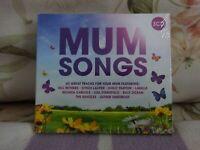 Mum Songs CD 3 discs (2017) Various artists -New/Sealed Free uk Postage