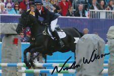 NICOLA WILSON HAND SIGNED LONDON 2012 OLYMPICS 6X4 PHOTO GREAT BRITAIN 4.