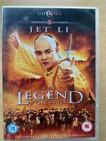 The Legend of Fong Sai Yuk DVD 1993 Martial Arts Classic w/ Jet Li  CineAsia