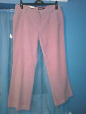 ** BNWT ** LADIES  SHORT PINK CORDS/JEANS SIZE 14
