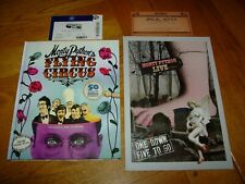 MONTY PYTHON'S FLYING CIRCUS 50 YRS-SIGNED x 4-1ST-HB-F+PROGRAM/TICKET LAST SHOW