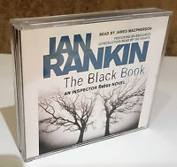 THE BLACK BOOK Ian Rankin Inspector Rebus 3 Audio CDs NEW UNSEALED