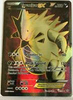 Tyranitar EX FULL ART ULTRA RARE 91/98 Pokemon Xy Ancient Origins Holo Rare NM