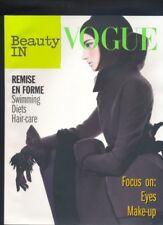 Beauty in Vogue ,supplemento Vogue Italia novembre 2008 Stephanie Seymour  R