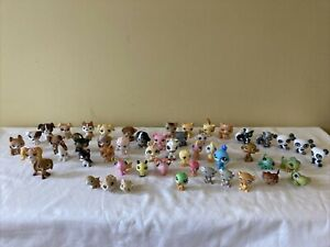 51 LPS Littlest Pet Shop Pets Dogs Cats Birds Butterfly Bee Mice 2004-2007